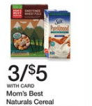 mom's best cereal kroger sale
