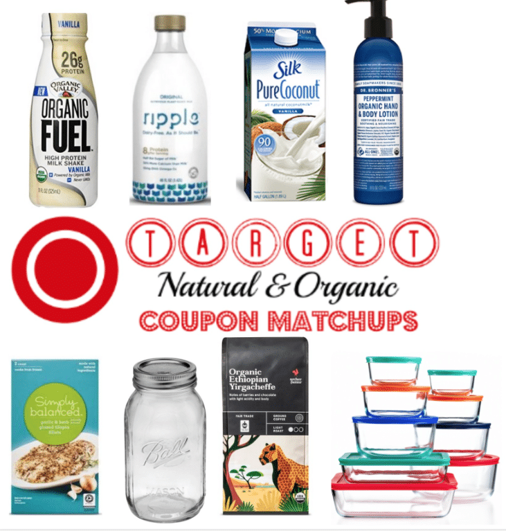 target organic coupon matchups and deals 9/11/16