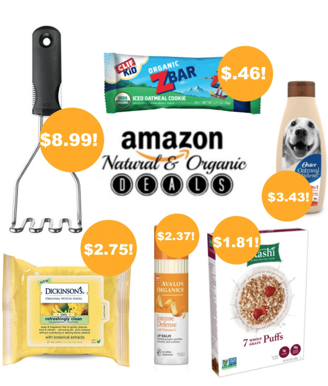 amazon organic deals 9/15