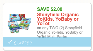 stony field organic yogurt coupon