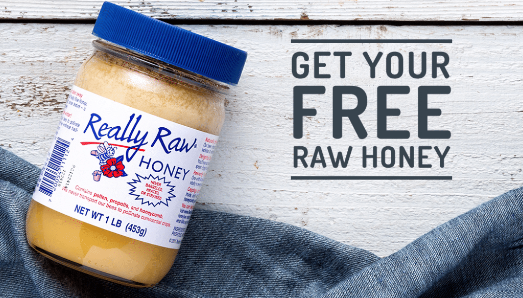 free really raw honey thrive