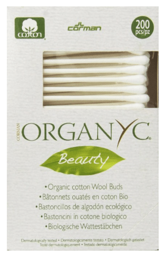 organic cotton qtips, cotton swabs
