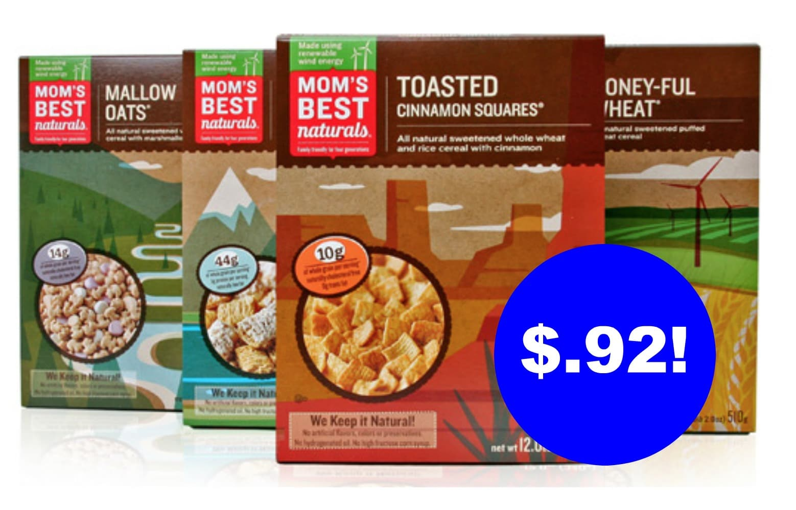 Mom S Best Cereal 92 At Kroger All Natural Savings