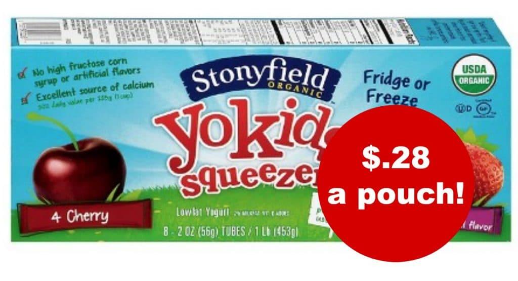 stonyfield yosqueezers target
