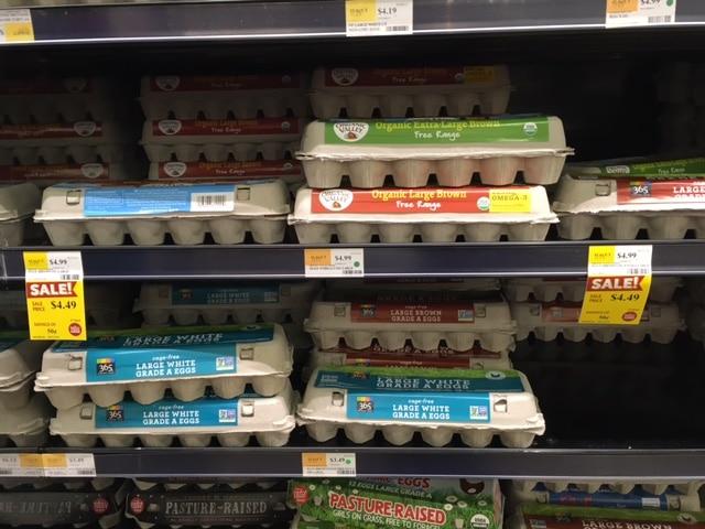 organic valley eggs