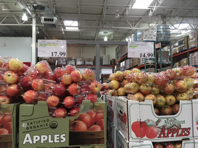 organic honey crisp apples costco