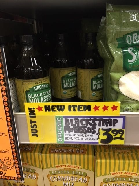 blackstrap molasses organic trader joe's