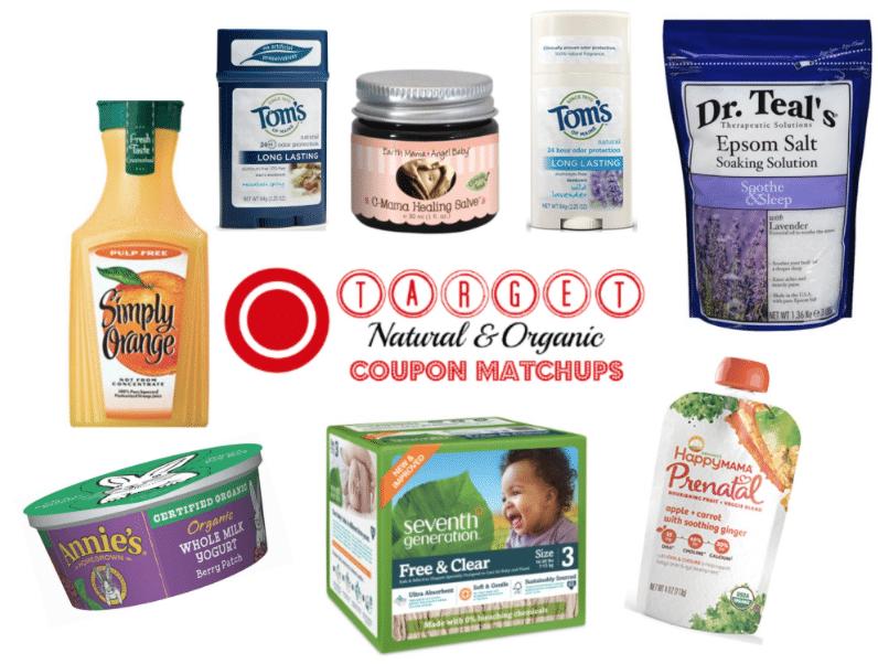 target organic coupons deals