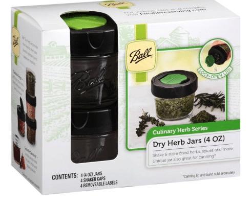 ball herb jars
