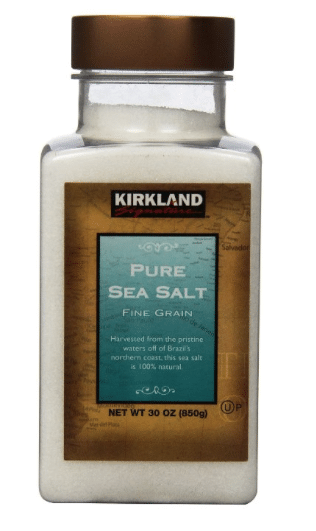 kirkland sea salt