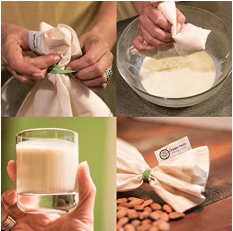 make your own nut milk bag