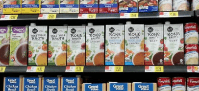 bone broth walmart organic