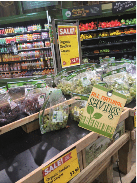 organic grapes whole foods