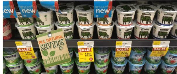 stonyfield organic grass fed yogurt