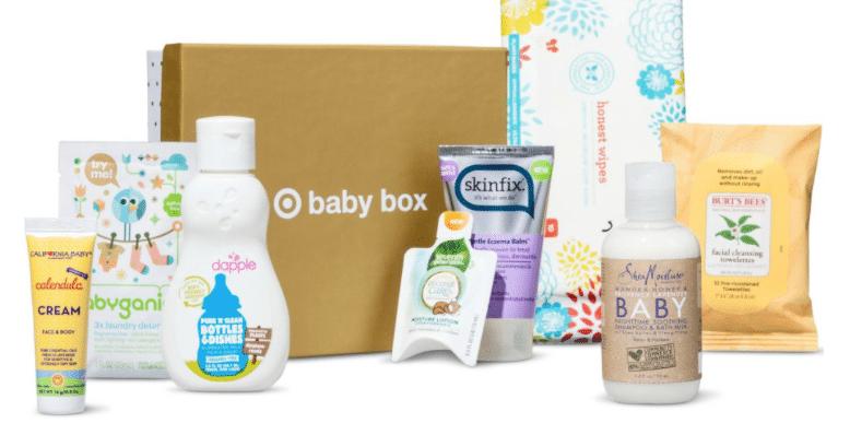 target natural and organic baby box