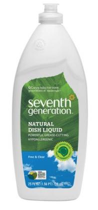 seventh generation dish liquid