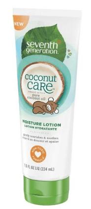 seventh generation coconut care lotion