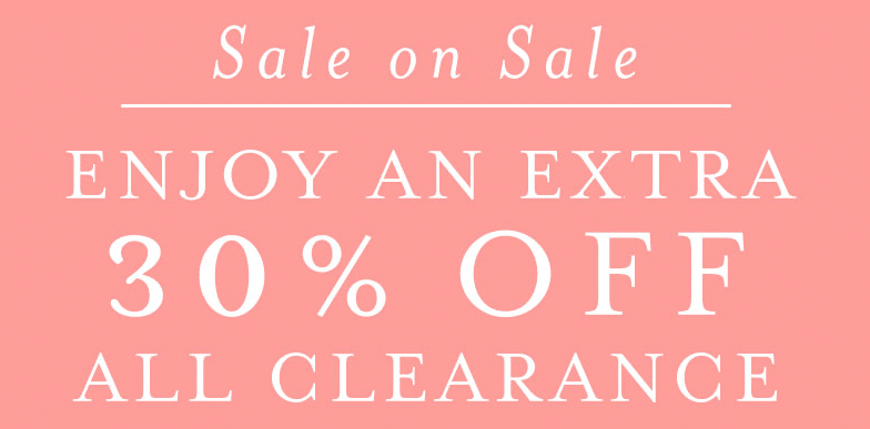 burt's bees organic clothing 30% off clearance sale