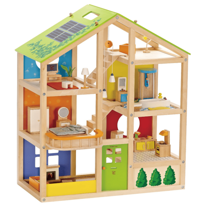 have wooden dollhouse non toxic