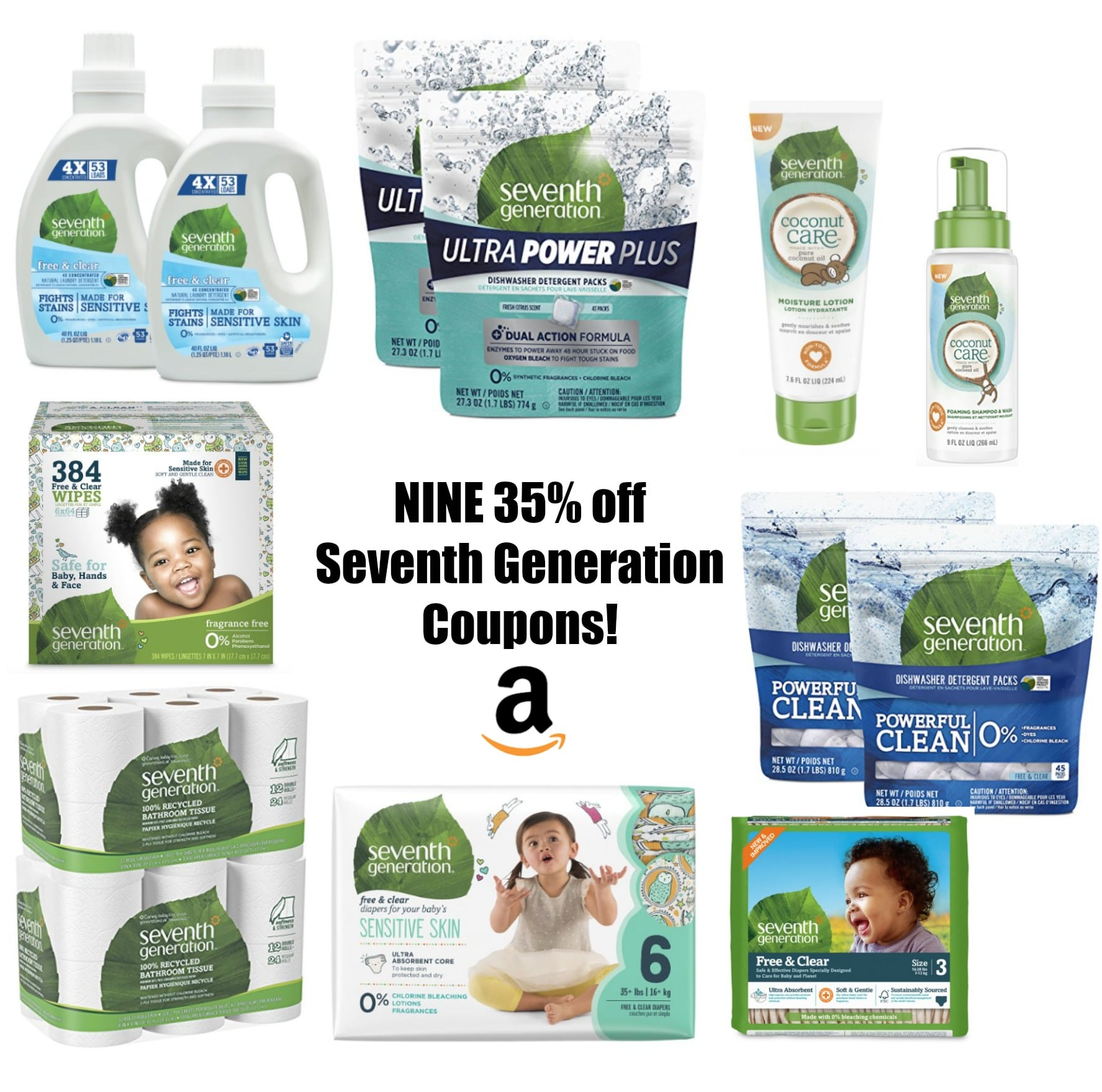 picture about Seventh Generation Printable Coupons known as Reminder: 9 35% off 7th Manufacturing Discount coupons upon Amazon