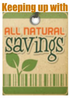all natural savings organic coupons and deals