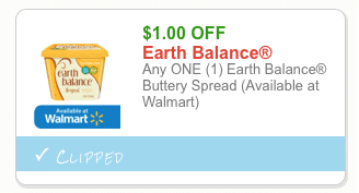 earth balance coupons