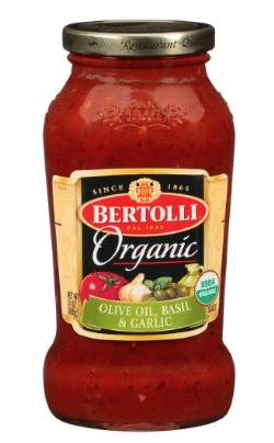 bertolli organic pasta sauce