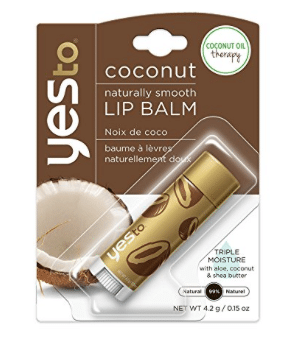 yes to coconut lip balm