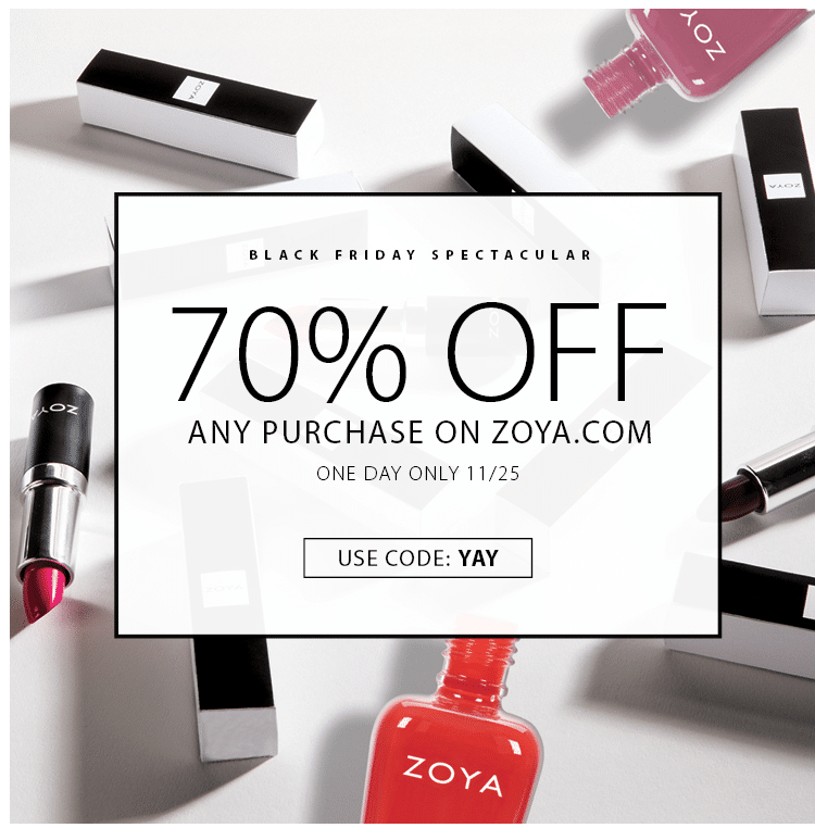 zoya black friday