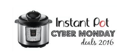 cyber monday deals 2016 instant pot