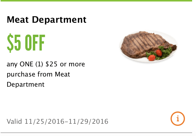 whole foods $5 off $25 coupon