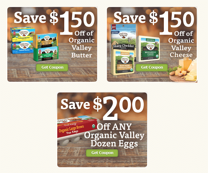 organic valley dairy coupons