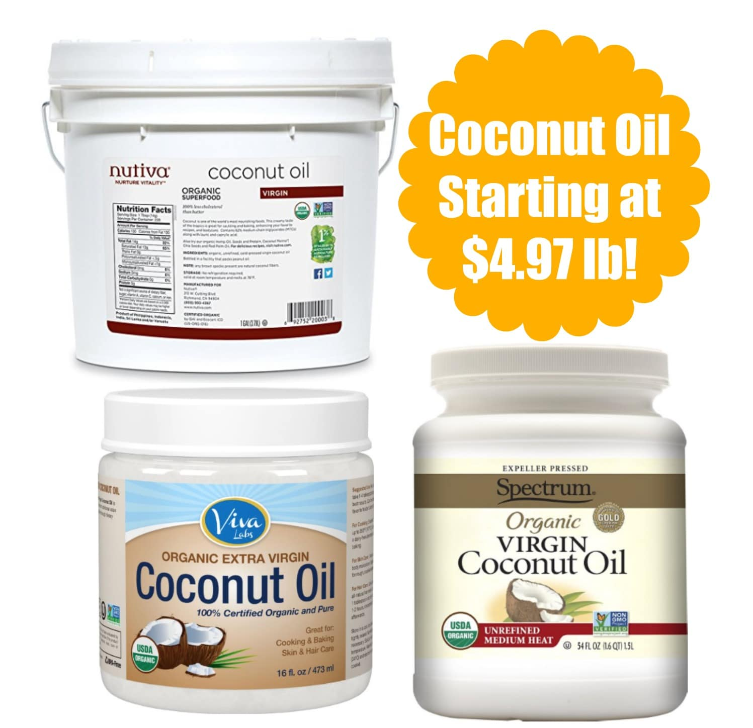 coupons for coconut oil