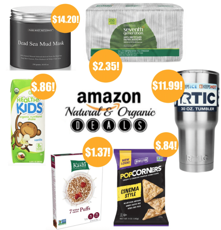 amazon organic deals 12/4