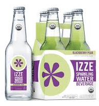 izze organic sparkling water