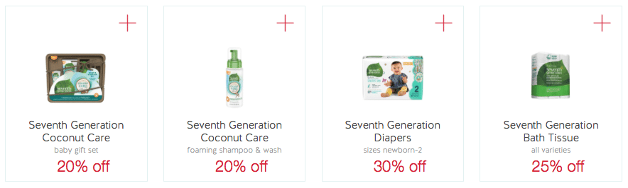 seventh generation coupons target