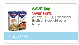 swanson organic broth coupon