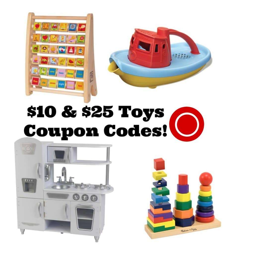 $10 & $25 Target.com Toys Coupon Codes- Includes Hape