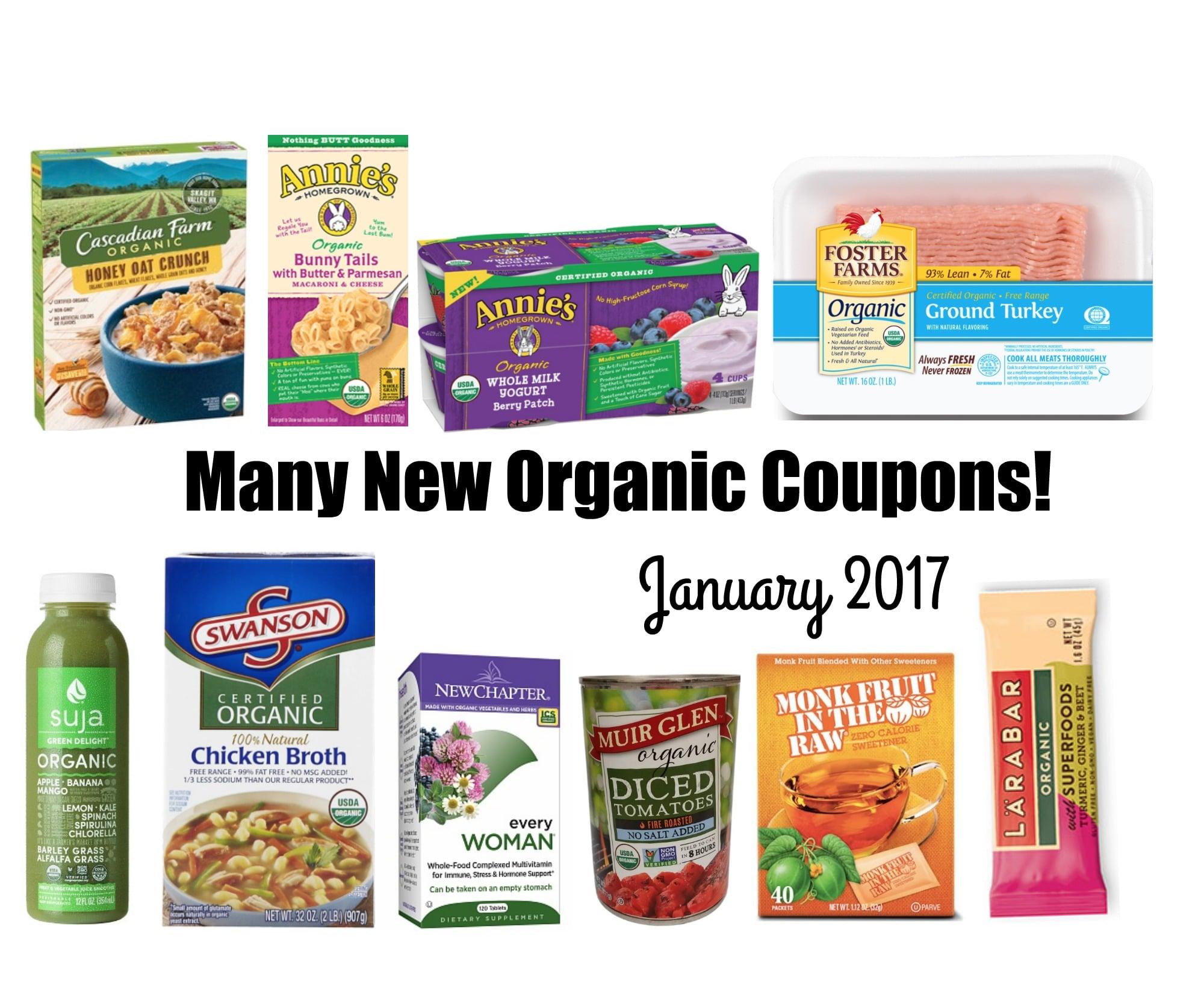 image regarding Organic Printable Coupons named Plenty of Fresh Natural and organic Organic and natural Printable Discount coupons- January 2017