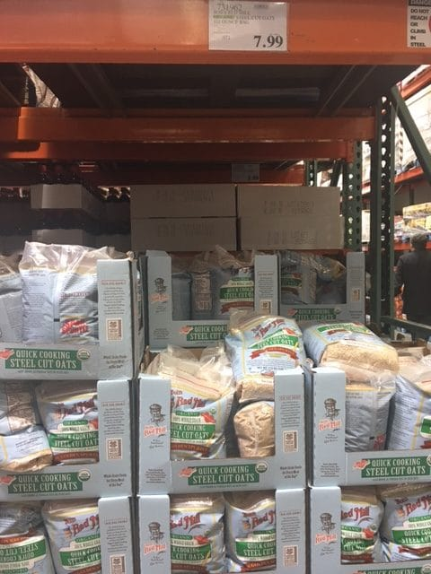 Bob S Red Mill Steel Cut Organic Quick Cooking Oats At Costco All Natural Savings