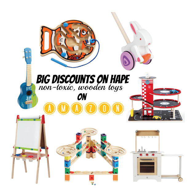 Up To 50 Off Hape Non Toxic Finished Wooden Toys On Amazon