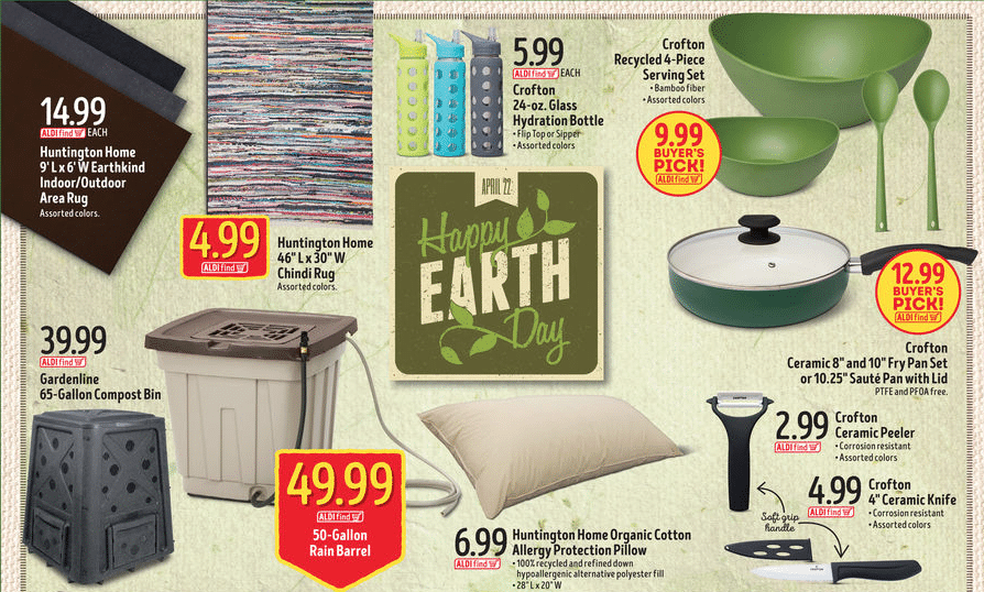 Aldi Hot Prices On Eco Friendly Products 5 99 Glass