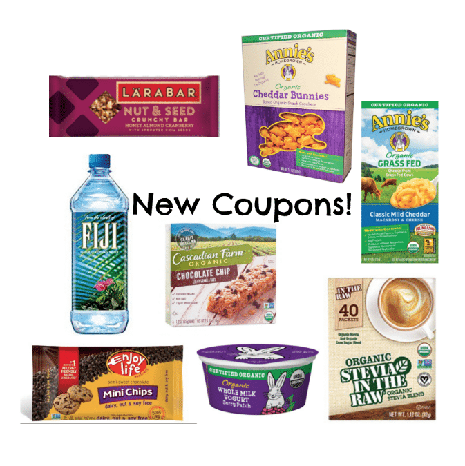 graphic relating to Organic Coupons Printable named August 2017- 22 Fresh Printable Natural and organic Organic and natural Discount codes