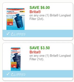 Print $19 in Brita Filter Coupons - All Natural Savings