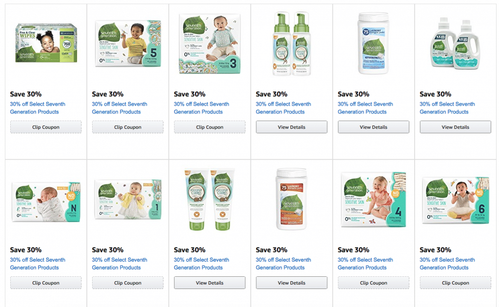 picture regarding Seventh Generation Printable Coupons called 27 30% off 7th Manufacturing Discount codes- Incredibly hot Promotions upon Diapers