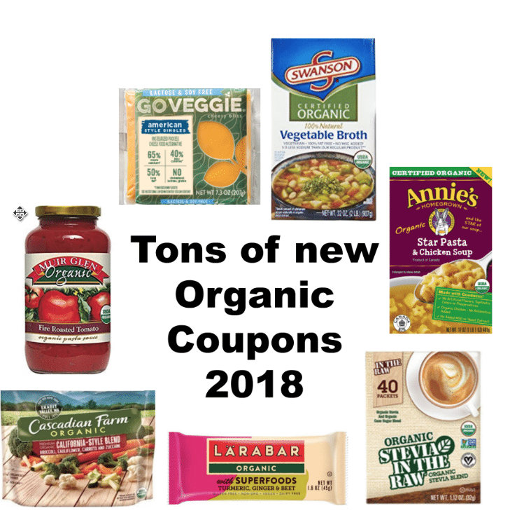 image relating to Organic Coupons Printable named Lots of Refreshing Organic and natural Natural Printable Coupon codes with Guide