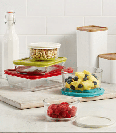Macy\'s.com- Pyrex 10 Pc. Food Storage or 8 Pc. Mixing Bowl Set only ...