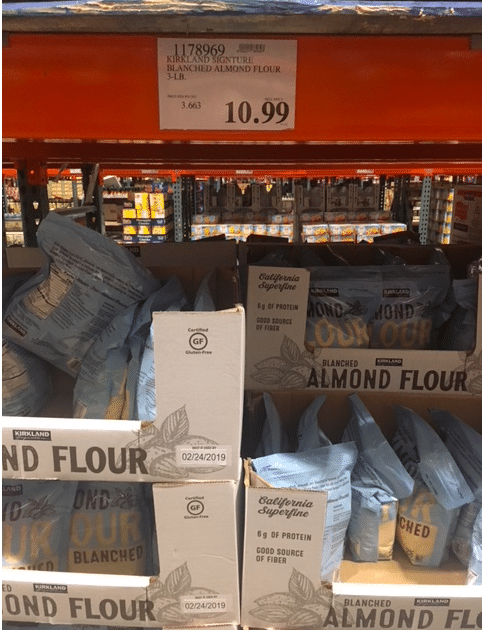 Stock Up Price On Blanched Almond Flour At Costco All Natural Savings