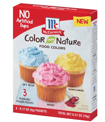 McCormick Natural Food Dyes as low as $4.18 on Amazon - All ...