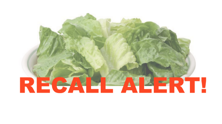 Lettuce Recall Update Toss All Forms Of Romaine